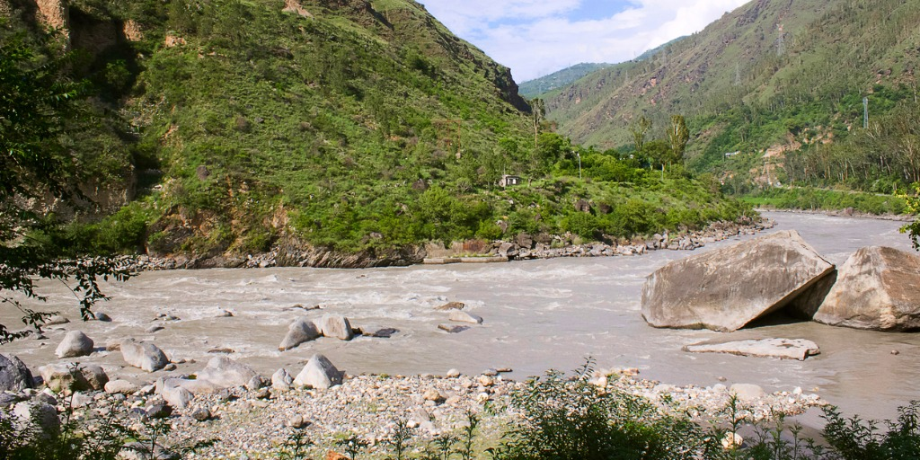 Water inflow in major rivers surges
